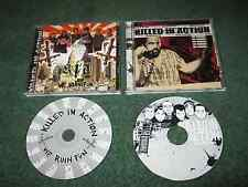 KILLED IN ACTION - We Ruin Fun & Exit Wounds (2 cds)