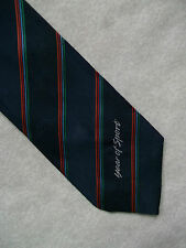 VINTAGE RETRO 90S TIE + 1991 YEAR OF SPORT + STRIPED RETRO NECKTIE 1990'S