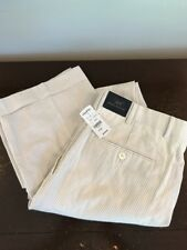 NWT Brooks Brothers 346 Regent Fit Tan Pants Seersucker 35Reg 35x31