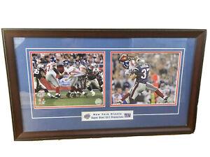 Size: 12 x 15 Framed Mario Manningham New York Giants Super Bowl XLVI Action Photo