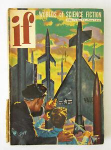 if - Worlds of Science Fiction Vol.1 No.12 ~UK~ Blish, Gunn stories