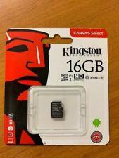 Kingston Technology 16GB Micro SD SDHC TF Select memory card Class 10 UHS-I