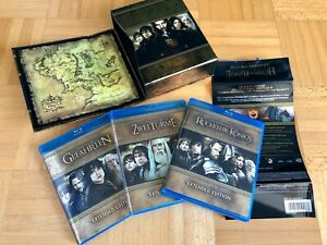 Der Herr Der Ringe Trilogie Extended Edition Blu-Ray 2013 lord of the rings Film