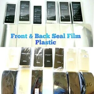 Samsung Galaxy S8 S9 S10 N9 N8 Note 20  S20 S21 Ultra Factory Seal Plastic Lens