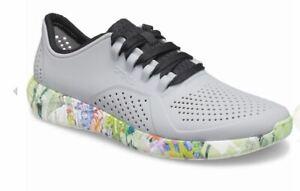 NEW $65 Mens Crocs LiteRide Neo Graff Pacer Shoes, size 9