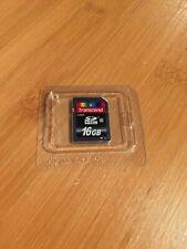 SDHC card, scan disk, 16GB