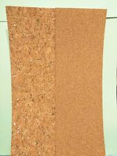 "QuicKutz/ Lifestyles Crafts QuickStripz CORK SHEETS w/Adhesive 4""x12"" ~  2grains"