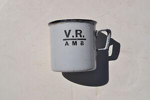 V.R Ambulance Services enamel mug