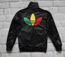 adidas track jacket RASTA chile reagge marley jamaica size  XS