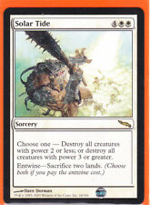 MTG Mirrodin Rare card  1 x  SOLAR TIDE  24/306  Sorcery  Never played  AS NEW
