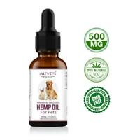100% Natural Supplement Organic Natural Hemp Seed Oil For Dogs Cats Pets 30ml