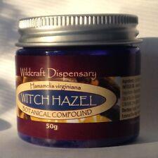 WITCH HAZEL 50g Veins Haemorrhoids Piles Capillaries Herbal Ointment Cream