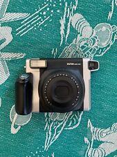 Fujifilm Instax Wide 300 Instant Film Camera - Black/Silver (w/ 5 Shots Of Film)