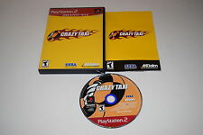 Crazy Taxi Sony Playstation 2 PS2 Video Game Complete