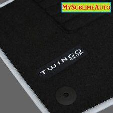 Tapis De Sol Renault Twingo 2 II De 2007 à 2014 Velours Edition Logo Brodé NEUFS