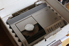PHILIPS CD-100 first cd player serviced + new laser + rare accessoires + BOX !