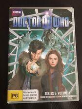 Doctor Who - Series 5 -Volume 2 DVD - Matt Smith,Karen Gillan - Region 4