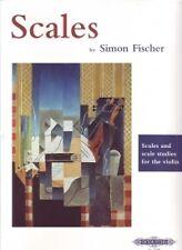 SCALES VIOLIN Simon Fischer