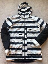Burton Mens Medium Hooded Snowboard ski Winter Jacket Goretex