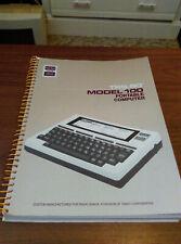RARE TRS-80 / RADIO SHACK Model 100 Portable Computer Manual - GREAT Condition