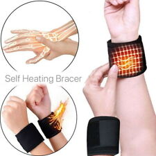 2 Pcs Self-heating Magnet Wrist Support Straps Wrist Band Warm Wraps Wristband