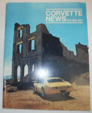 Corvette News Magazine Canadian Corvetters April/May 1975 081915R