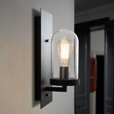Retro Loft Glass Shade Wall Light Antique Industrial Wall Sconce Lighting Lamp