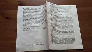 Núm. 4 Gazeta del Gobierno del Jueves 10 de Agosto de 1809, Barcelona Teruel....