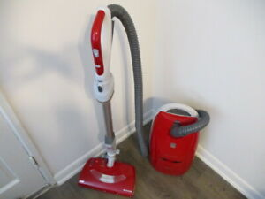 Kenmore Progressive 360 True HEPA 116 Red Canister Vacuum