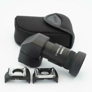 Canon Angle Finder C with Finder Adapters Ec-C and Ed-C