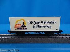 Marklin 4481 Container Car 150 Jahre Eisenbahnen in Württemberg