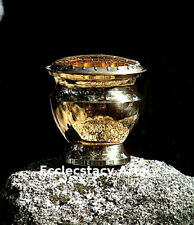 Brass Screen Incense Censer-Charcoa-Resin 4 Inches Tall & Coaster New {:-)