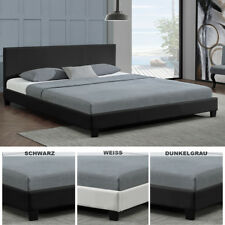 Polsterbett Doppelbett Design  Bettgestell Bettrahmen mit Lattenrost Bett