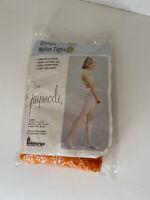 Vintage Gaymode Opaque Fashion Nylon Tight Orange Size M