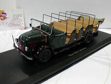 """AutoCult 10000 # Steyr 380a Cabrio Baujahr 1949 in """" dunkelgrün """" 1:43"""