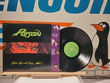 Poison  Open Up and Say Ahh LP  Combine Shipping & Save!!!