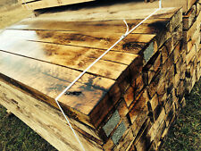 """NEW Specially Treated Unique Oak Railway Sleepers Grade """"A"""" (delivery available)"""