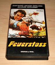VHS - Feuerstoss - Actionfilm - Stuart Whitman - Videokassette