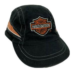 Harley-Davidson Hat Black Orange Cap Baby Size XS