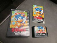 Sonic the Hedgehog (Sega Genesis, 1991) Complete in Box - CIB
