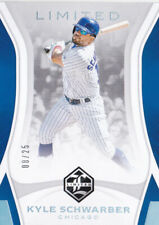 2019 Panini Limited Kyle Schwarber /25 HOLO SILVER Chicago Cubs
