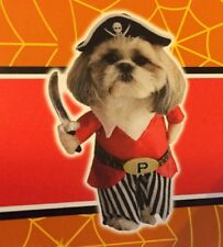 NWT Spooky Village Pirate  PET / DOG HALLOWEEN COSTUME - Small (11 Inches)