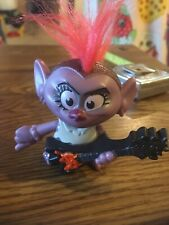 Dreamworks Trolls Mini with Guitar, Fast Food Promo McDonalds 3""