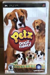 GOOD SHAPE Petz: Dogz Family Sony PSP PlayStation Portable Complete FAST SHIP