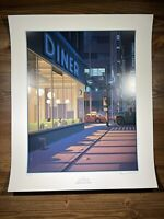 """Laurent Durieux X Michael Mann """"In The Heat Of The Night"""" Art Print Poster X/150"""