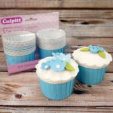 Blue Baking Cups For Cupcakes, Pack of 24