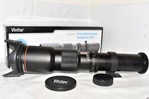 CANON EOS DSLR DIGITAL fit 500mm HD lens 1100D 1200D 1300D 2000D 3000D 4000D +