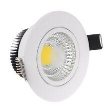 Paquete De 10 Downlight LED Empotrada de Techo Reflector 5W 6400K blanco frío