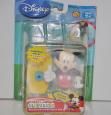 Mickey Mouse Clubhouse Talkin Bobbin Mouseka-Friends Mickey & Skateboard New