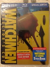 Watchmen blu-ray SteelBook Futureshop Canada Glossy 1st Print 2009 Sealed RARE